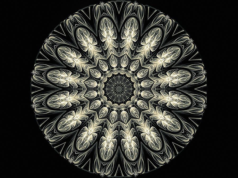 Cameo Mandala Digital Art