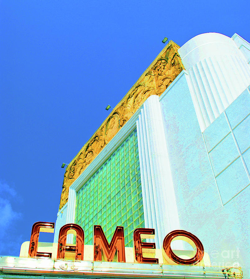 Cameo Photograph - Cameo Theatre by Jost Houk