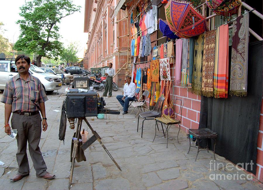 Khush Photograph - Camera by Bohemian Orange