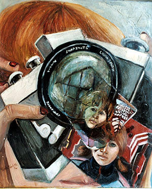 Camera  Painting by Linda Smith