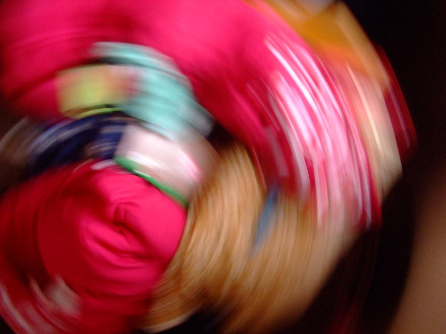 Colorful Photograph - Camera Toss by Ali Dover