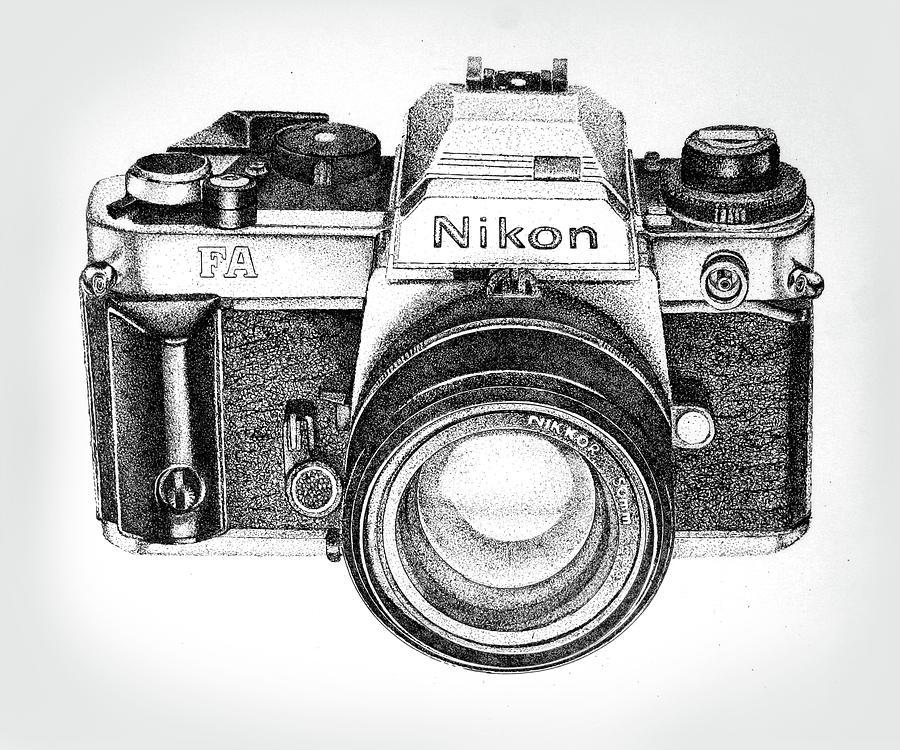 фотоаппарат рисунки карандашом китае