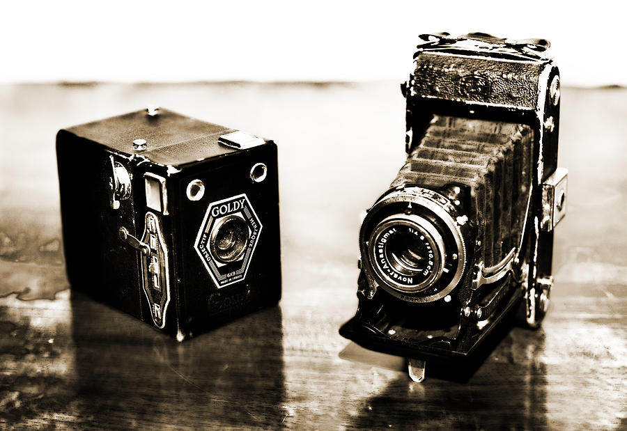 Old Photograph - Cameras by Thomas Kessler