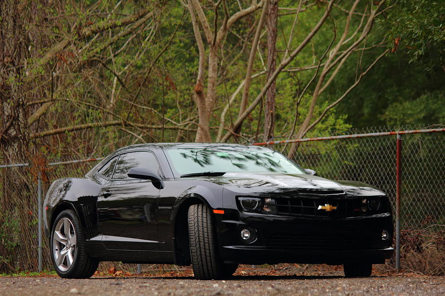 Chevy Photograph - Camero Ss by Jamie Smith