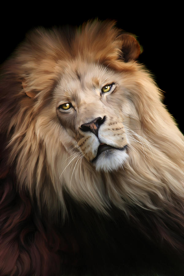 Cameron Digital Art - Cameron by Big Cat Rescue