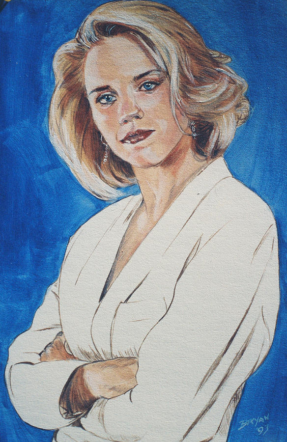 Cami Cooper Painting - Cami Cooper by Bryan Bustard