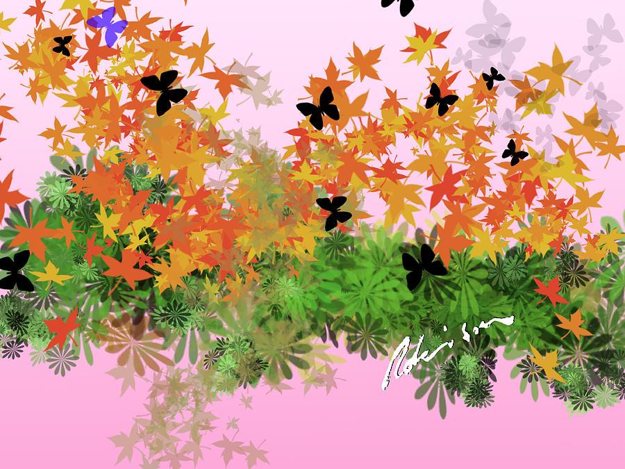 Camo Painting - Camo Nature Range by Mark Robinson