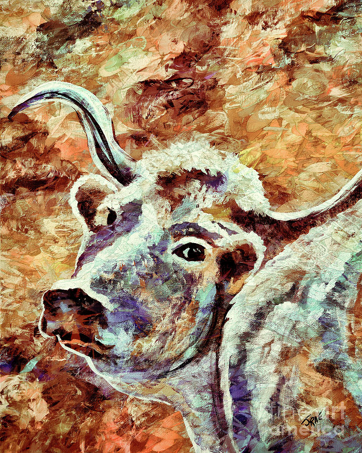 Cow Photograph - Camouflage Cow Art by Janice Pariza