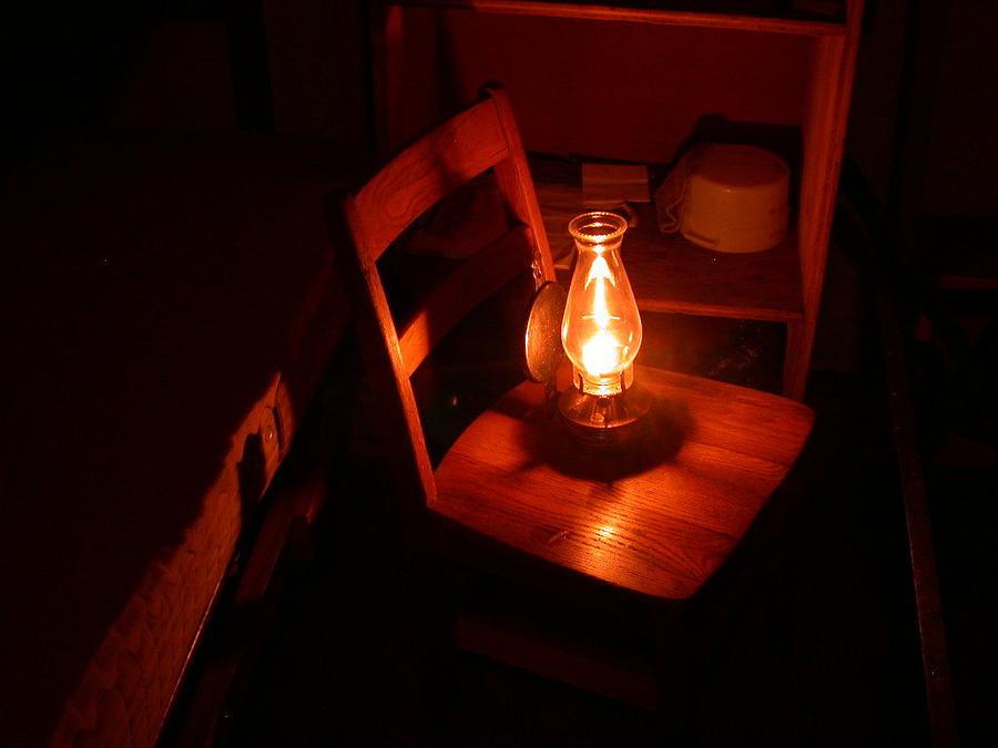 Light Photograph - Camp Light by G  Teysen