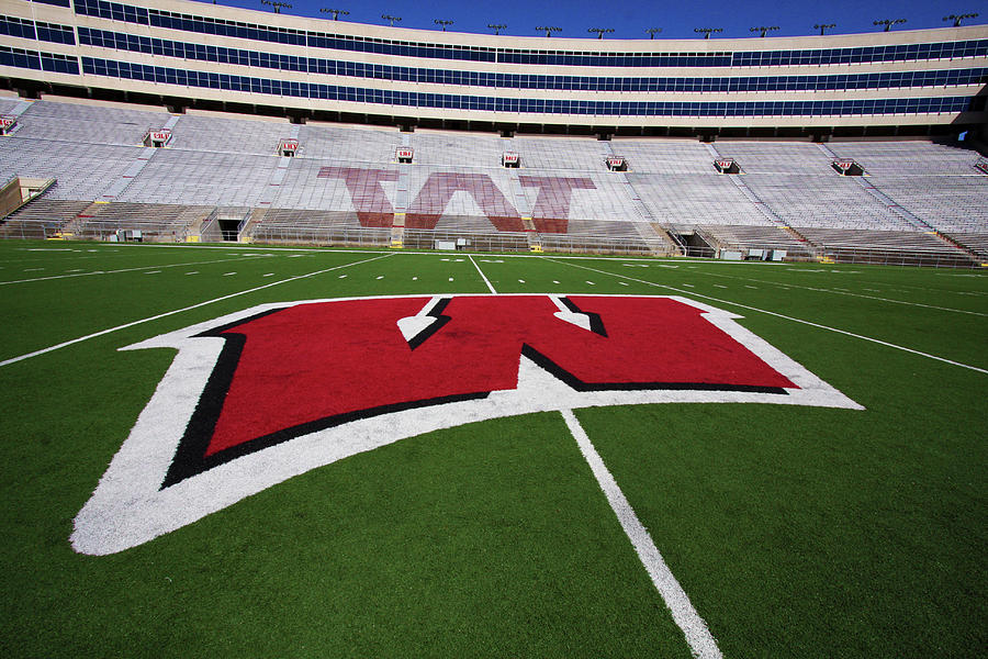 Badgers Photograph - Camp Randall by Ty Helbach