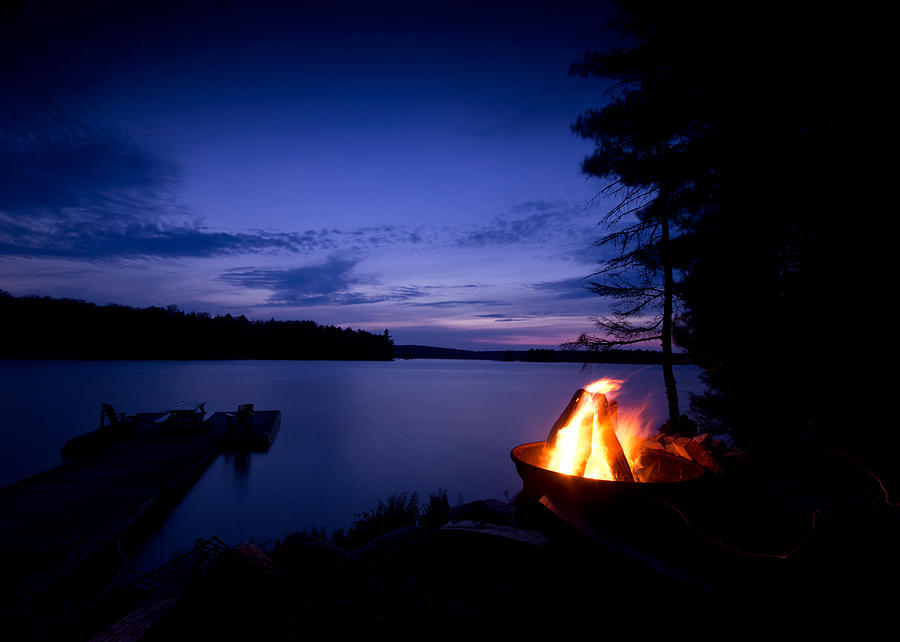 Campfire Photograph - Campfire by Cale Best