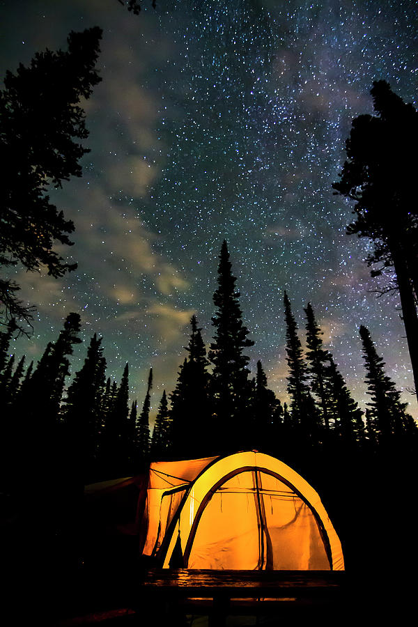 Stars Photograph - Camping Hideaway by James BO Insogna