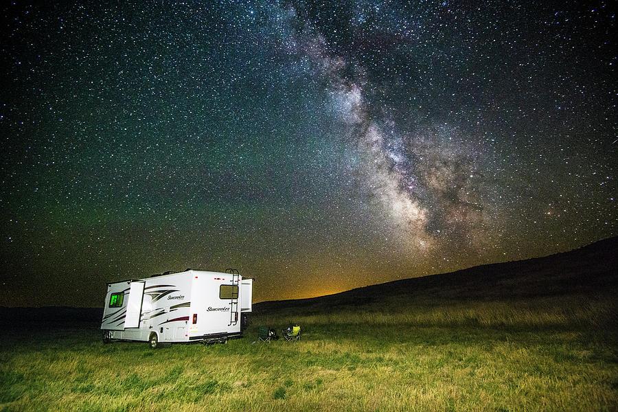 Camping Under the Stars by Matt Swinden