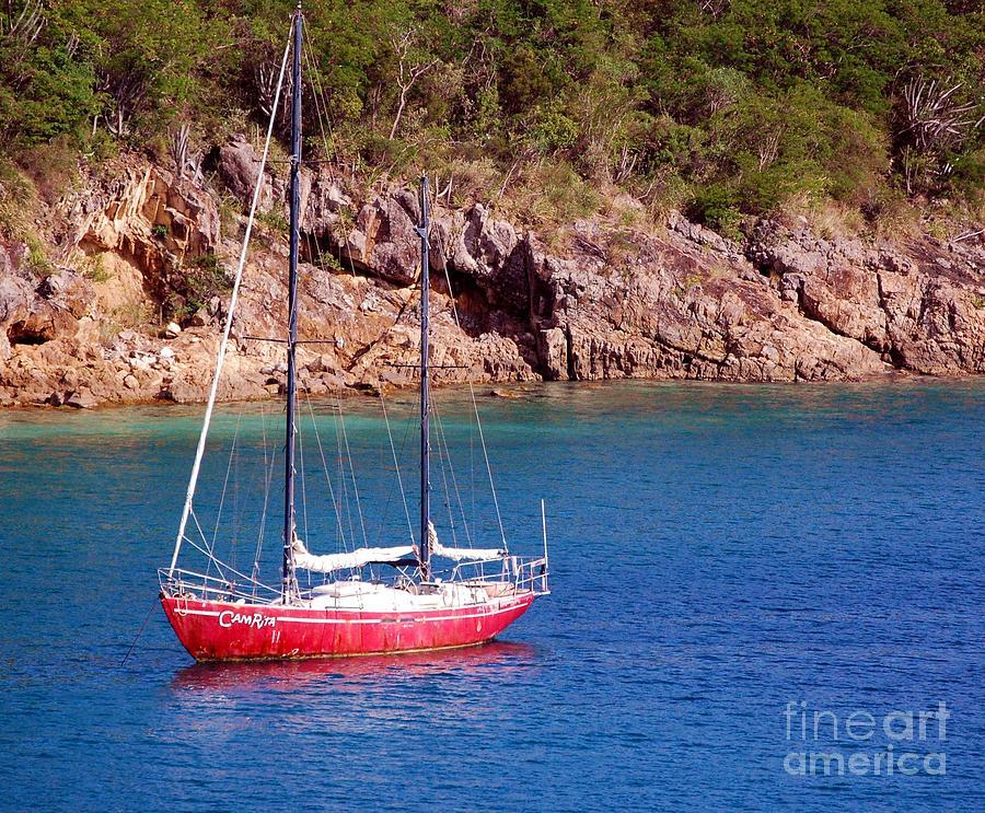 Sailboat Photograph - Camrita by Debbi Granruth