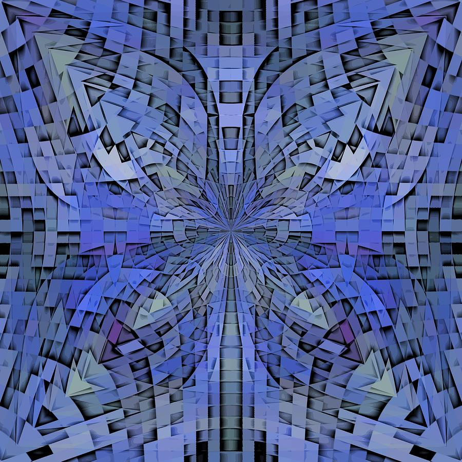 Abstract Digital Art - Can You Hear Me Now by Tim Allen