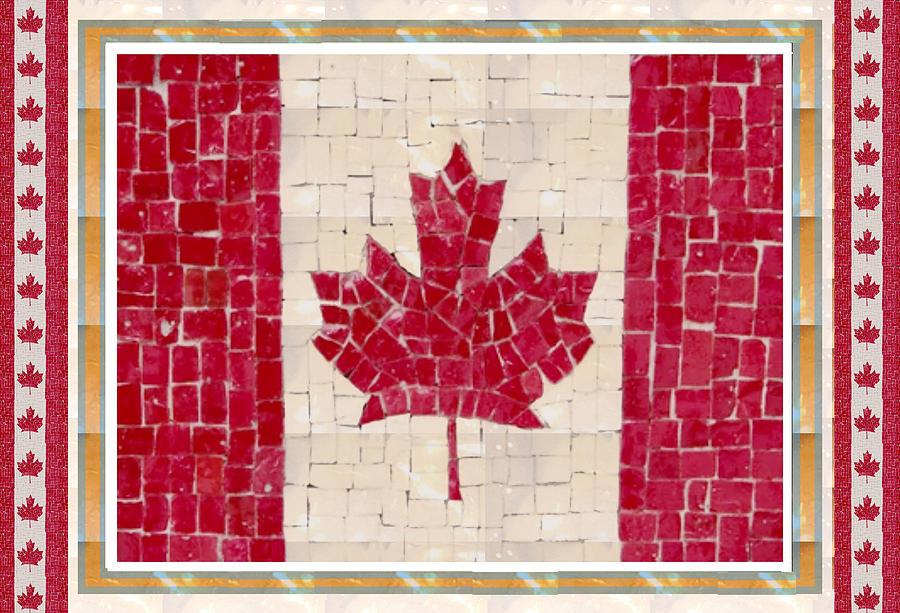 Canada Golory Decorations Proud Canadian Flag Artistic ...