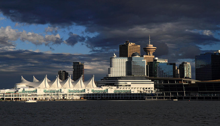 Canada Photograph - Canada Place Vancouver City by Pierre Leclerc Photography