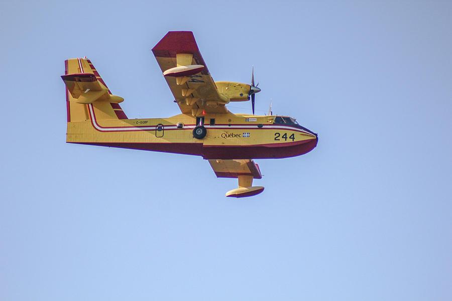 Canadair Photograph - Canadair CL-215 by Julien Boutin