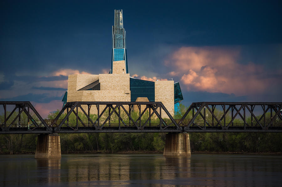 Architecture Photograph - Canadian Museum For Human Rights by Bryan Scott