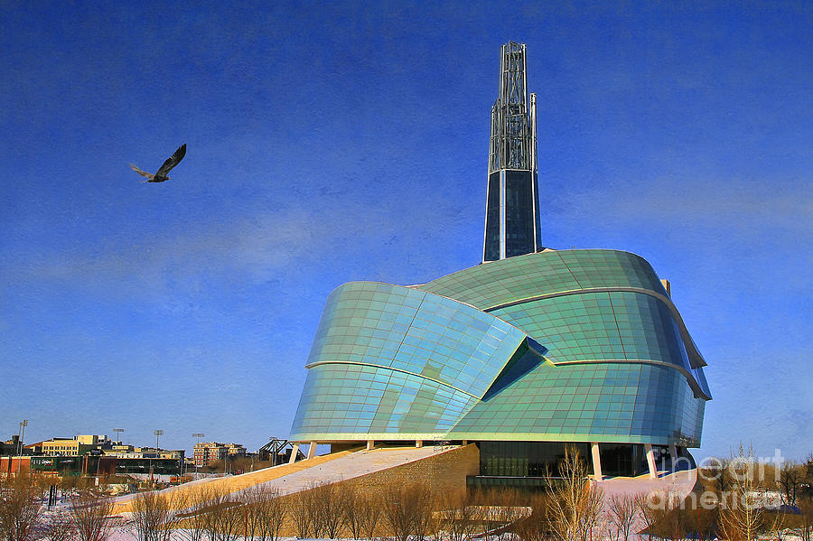 Canadian Museum For Human Rights Photograph by Teresa Zieba