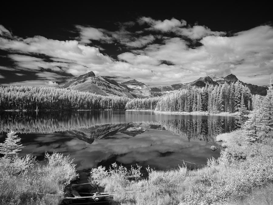 Canadian Rockies Ir 0827 Photograph