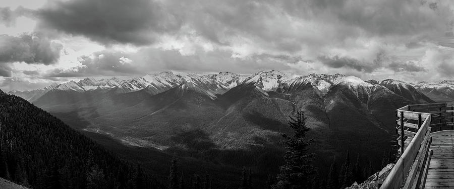 Landscape Photograph - Canadian Rockies Panorama by Alex Rossi