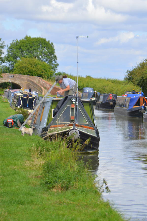Canal Photograph - Canal by Andy Thompson
