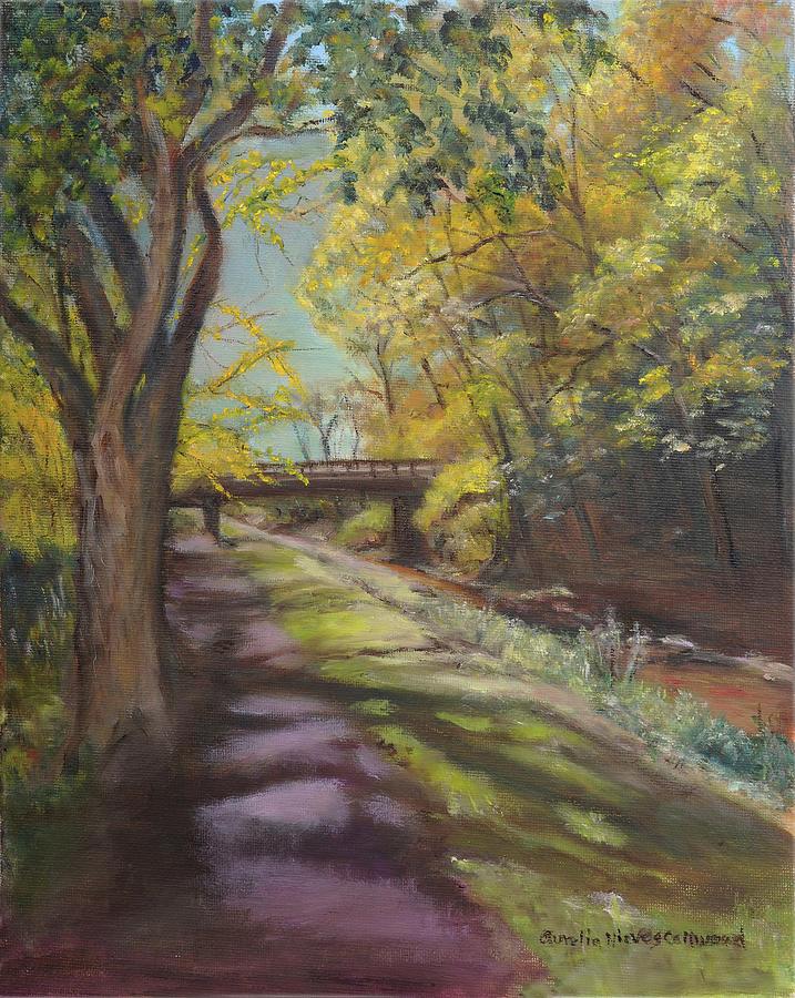 Canal at Erwinna by Aurelia Nieves-Callwood