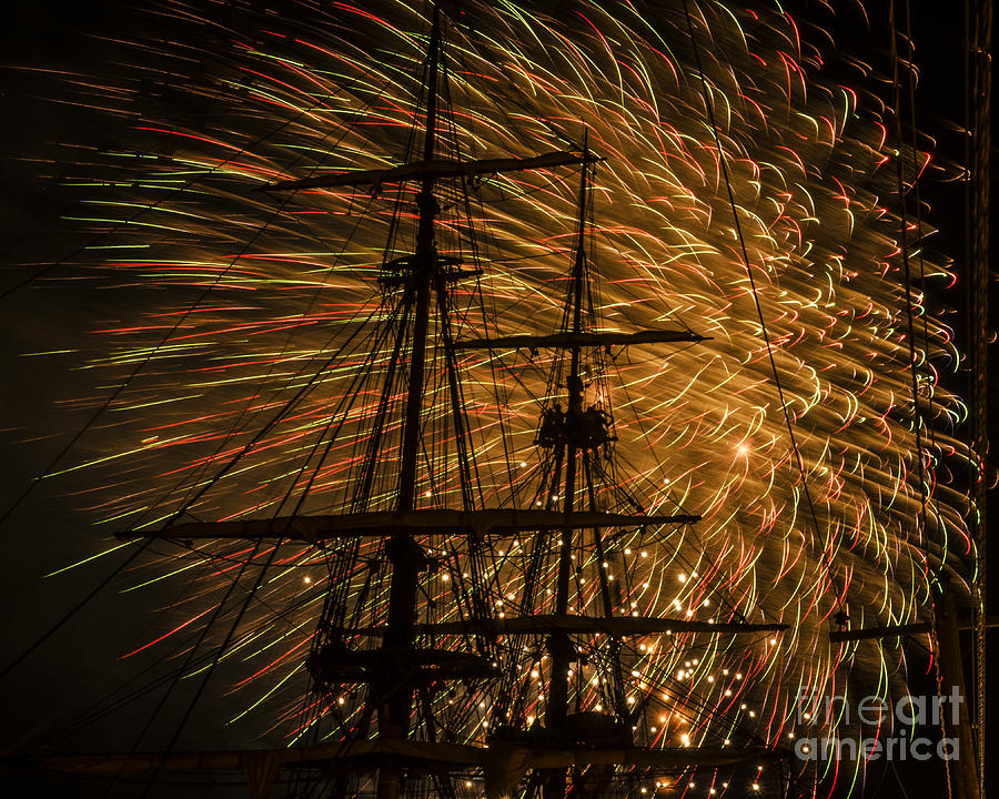 Canal Day Fireworks Finale by JT Lewis