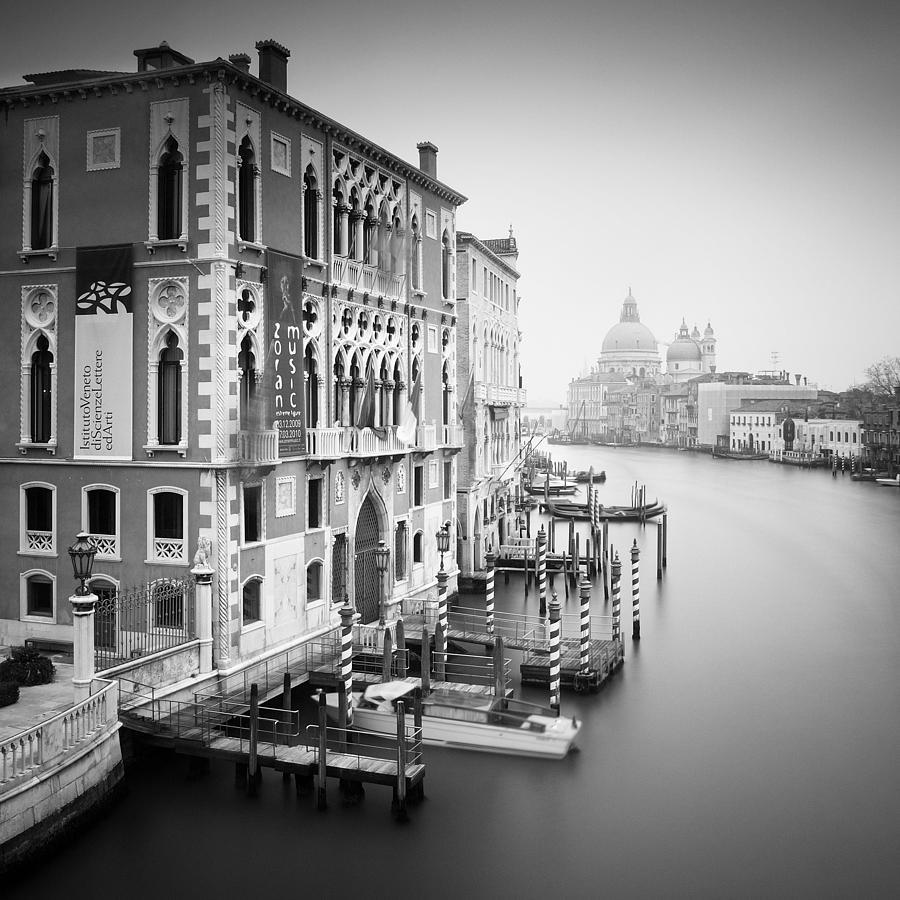 Venice Photograph - Canal Grande Study I by Nina Papiorek