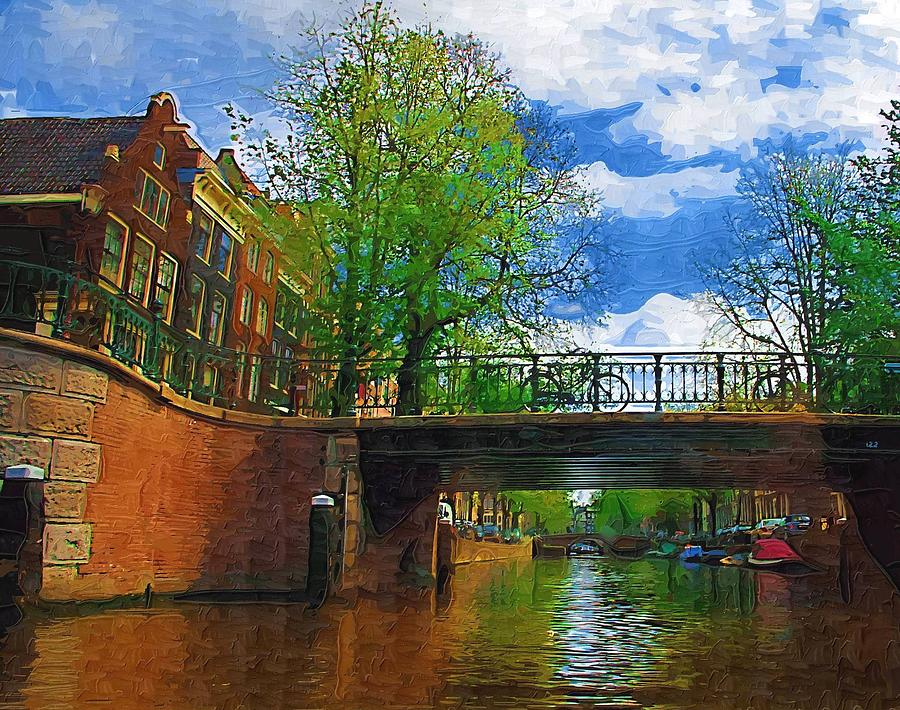 Amsterdam Photograph - Canals Of Amsterdam by Tom Reynen