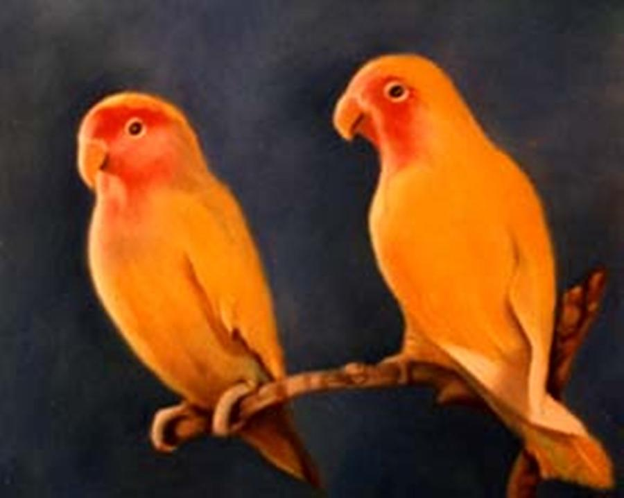 Canaries Pastel - Canaries by Jordana Sands