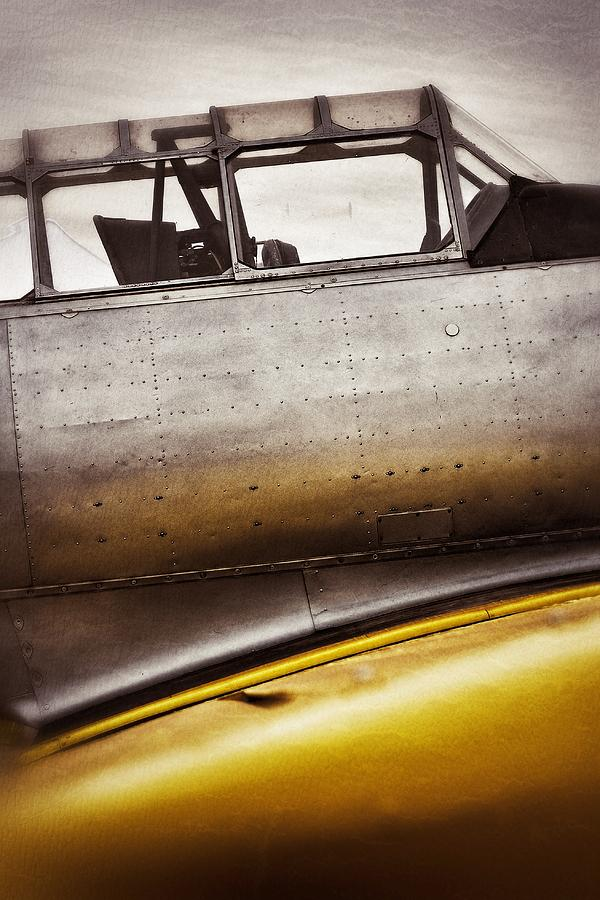 Airplanes Photograph - Canary by Pair of Spades