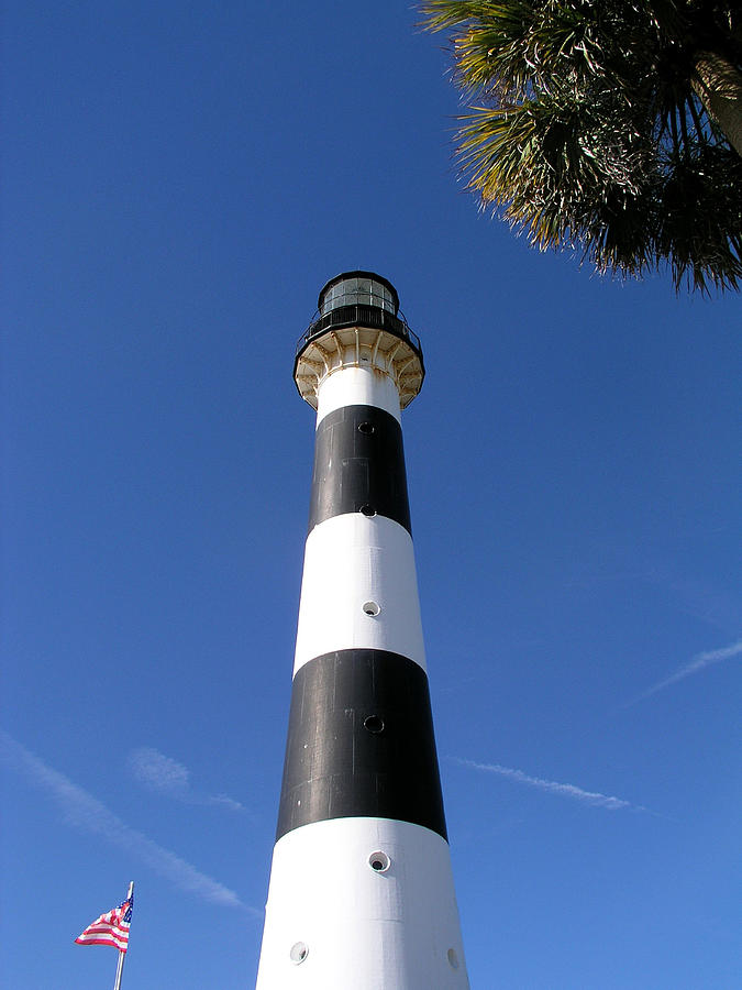 Canaveral Light Photograph by Allan  Hughes