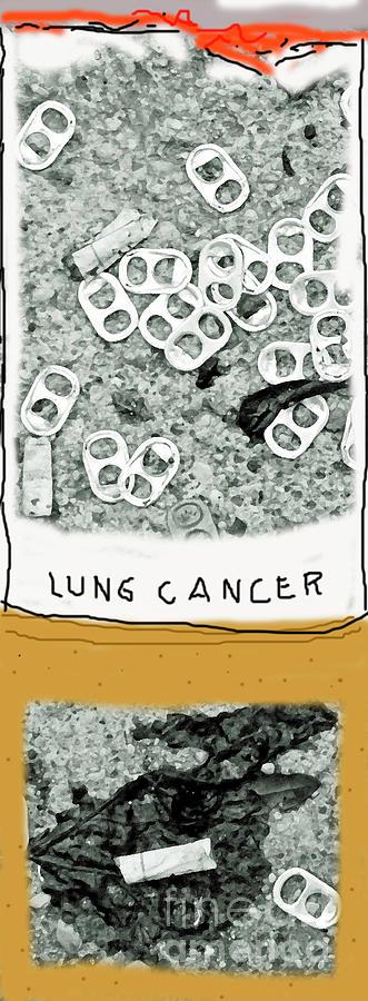 Cancer Stick Photograph