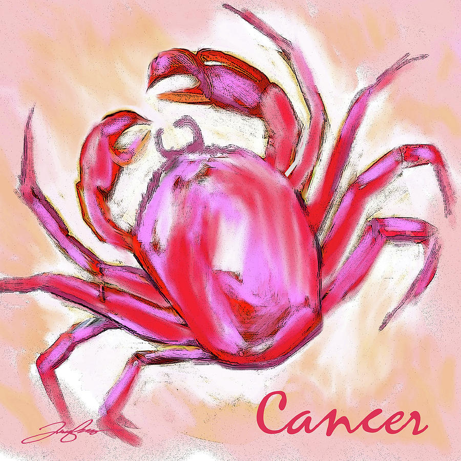 Cancer the Crab by Tony Franza