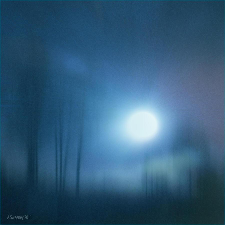 Moon Mixed Media - Cancerian Moon by Nita Sweeney