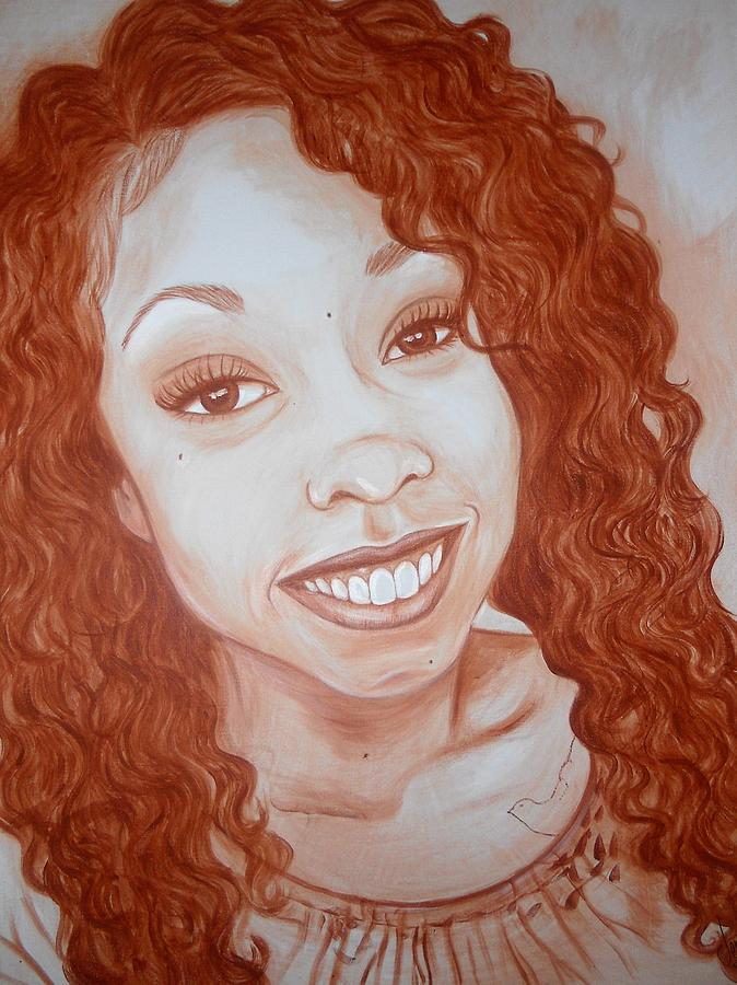 Candace Painting - Candace by Jenny Pickens