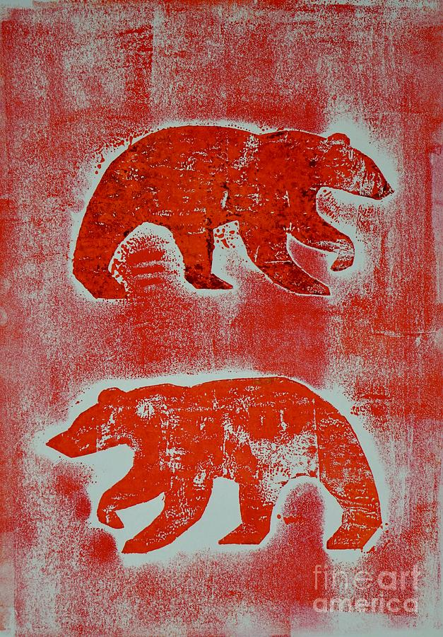 Candadian bears two  by Corina Stupu Thomas