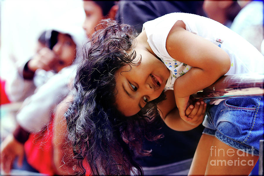 Kid Photograph - Candid by Lucky Jaiswal