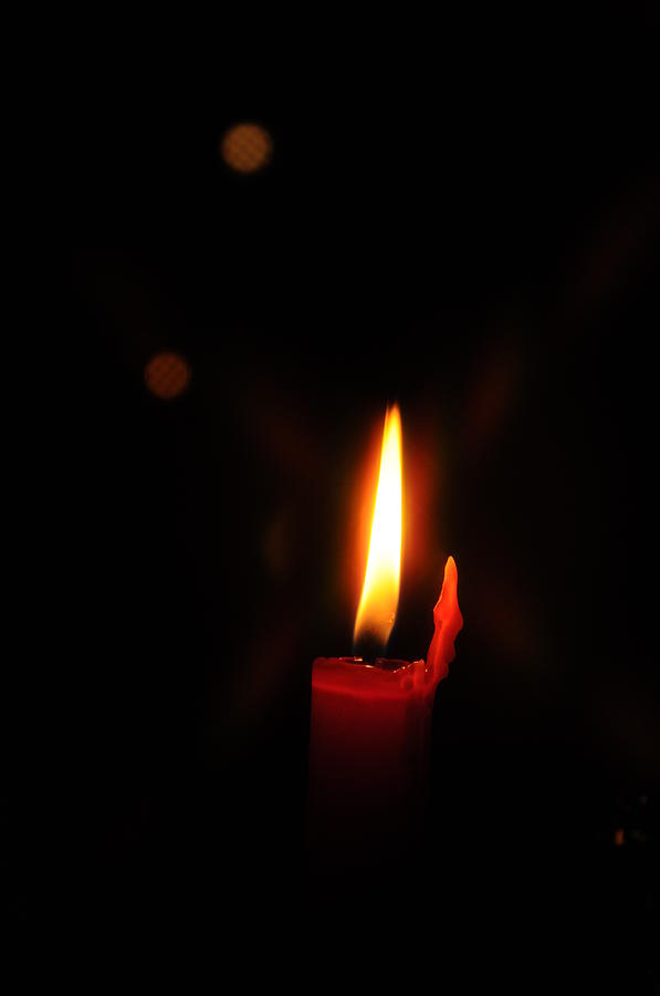 Candle In The Wind Photograph By G Teysen