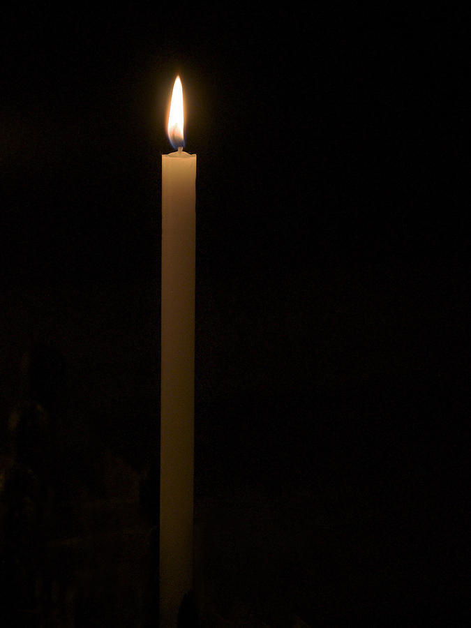 Candle Photograph - Candle Light by Marion McCristall