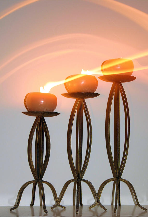 Candles Photograph - Candles In The Wind by Kristin Elmquist