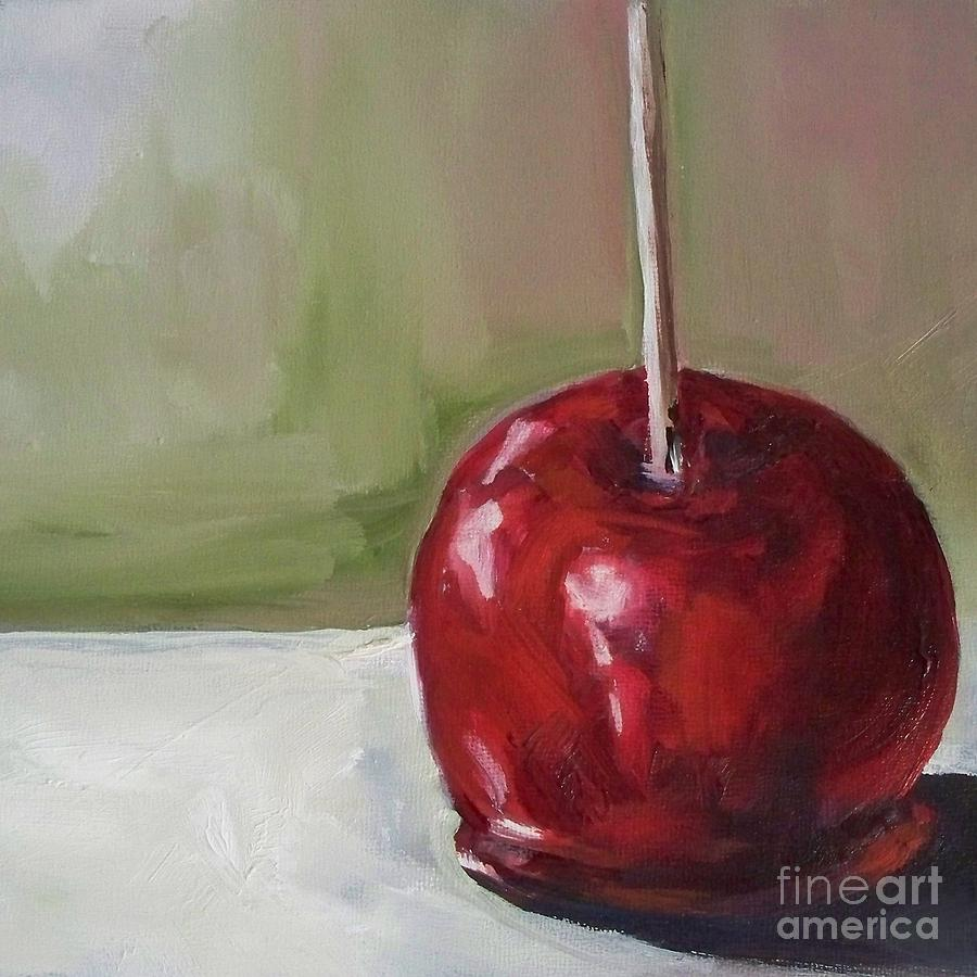 Candy Painting - Candy Apple by Kristine Kainer