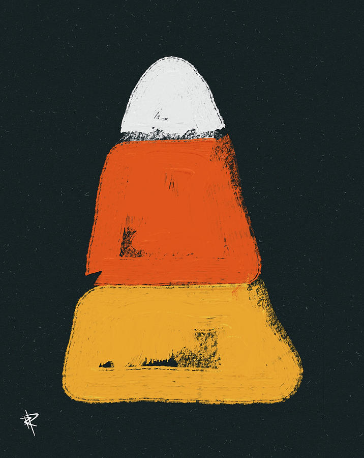 Candy Corn Mixed Media - Candy Corn by Russell Pierce