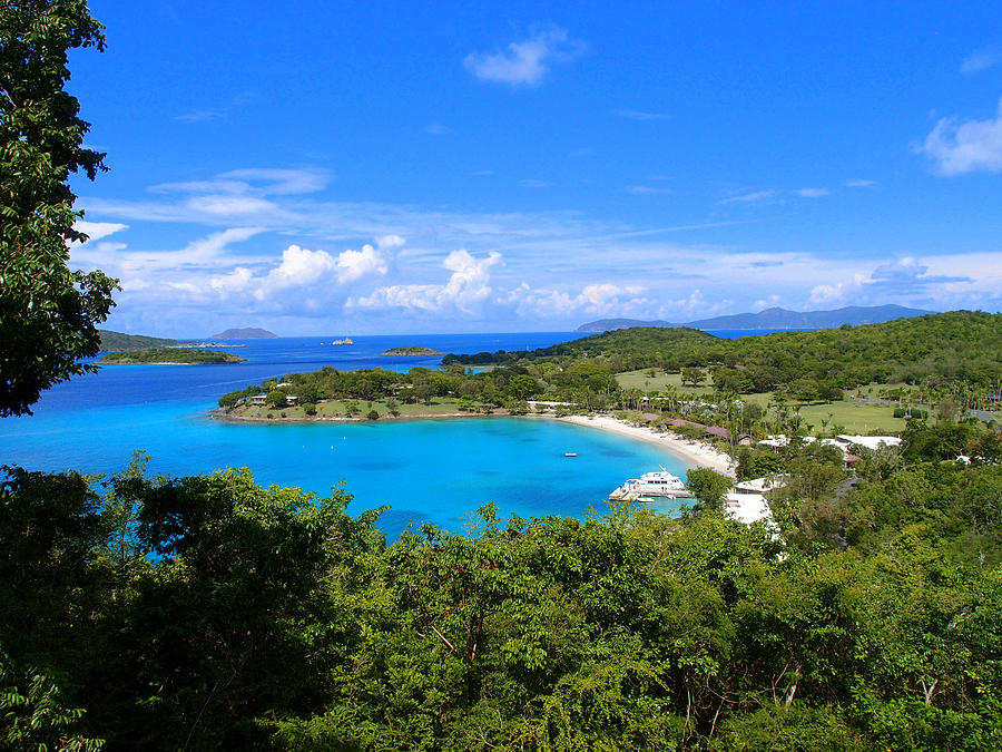 Caneel Bay Photograph by Todd Hummel