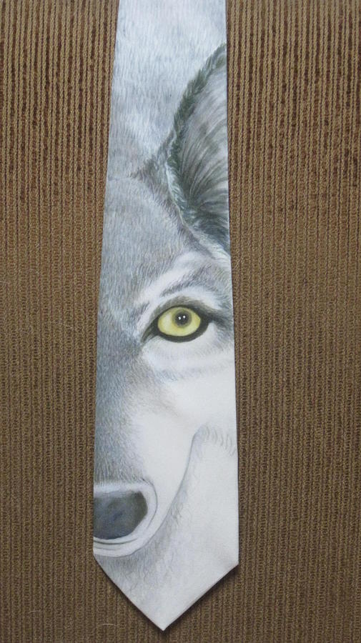 Wolf Painting - Canis Lupis by David Kelly