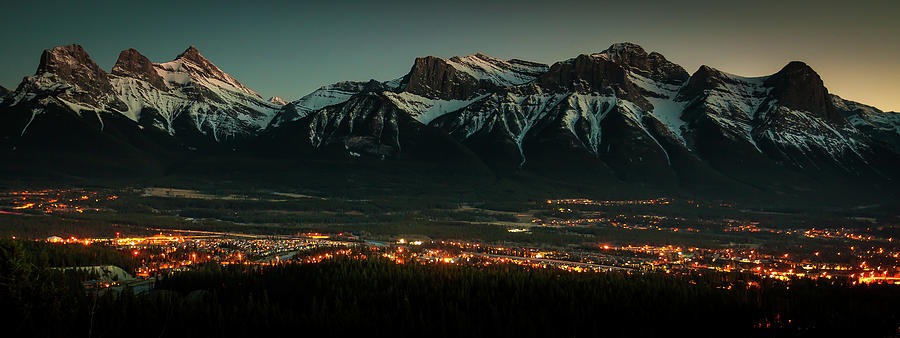 Canmore Twilight by Ward Cameron