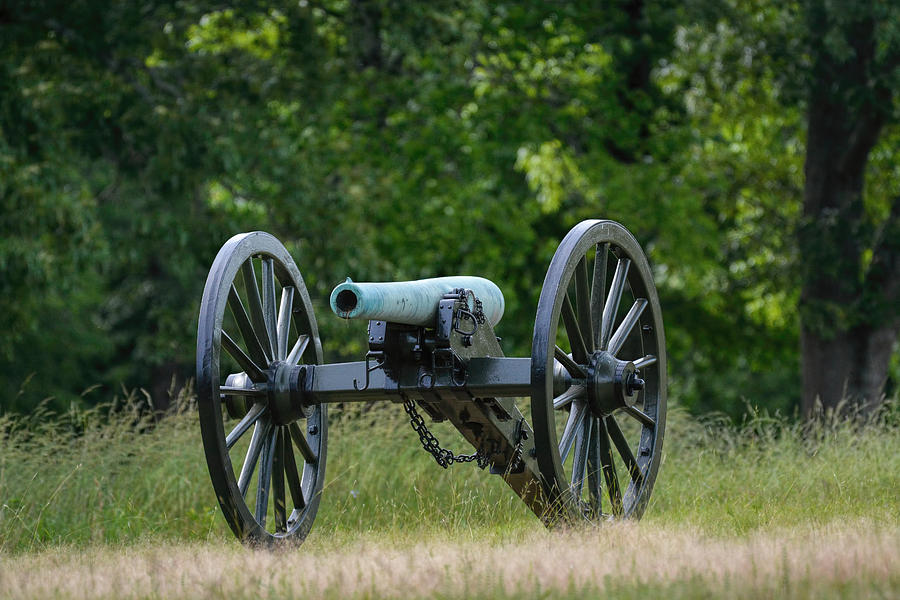 Cannon At Shiloh National Military Park In Shiloh Tennessee 052620156433 Photograph