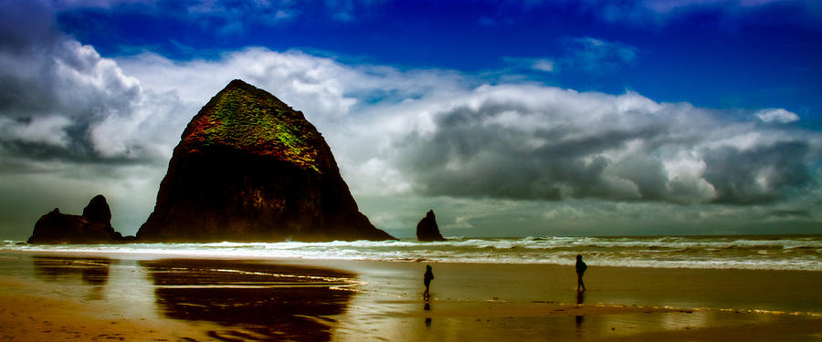 Cannon Beach Photograph - Cannon Beach At Dusk IIi by David Patterson
